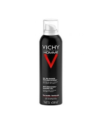 VICHY HOMME ANTI-IRRITATION SHAVING GEL150ML