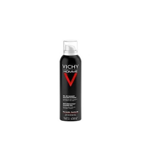VICHY HOMME ANTI-IRRITATION SHAVING GEL150ML