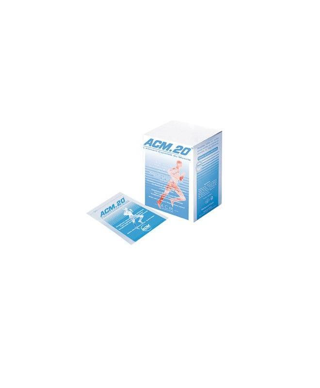 ACM 20 Proteine Riche en Vitamines 10 Sachets 100 mg