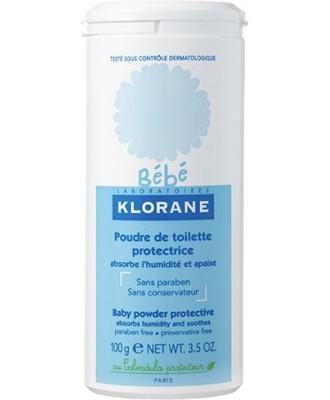 KLORANE BEBE POUDRE DE TOILETTE 100G