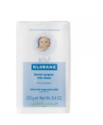 KLORANE BEBE SAVON SURGRAS 250G