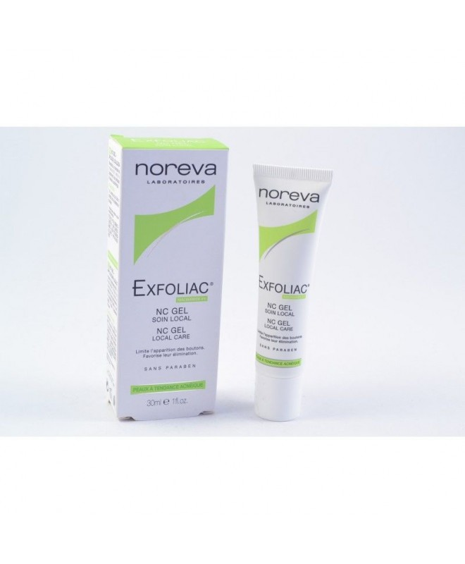 Exfoliac Nc Gel Soin Local Anti-Imperfections Solution Express 30 ml