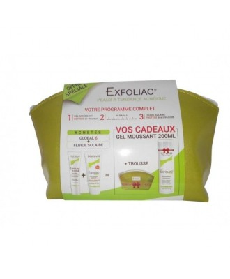 Exfoliac Kit Global 6 + Solar Fluid