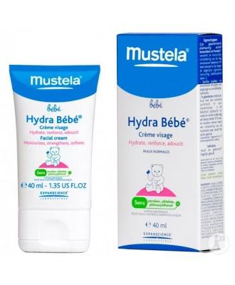 Mustela Hydra Bebe Crème Pour Le Visage 40 ml