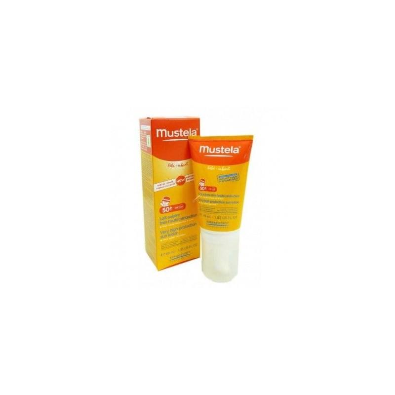 Mustela Lait Solaire SPF 50+ 40 ml