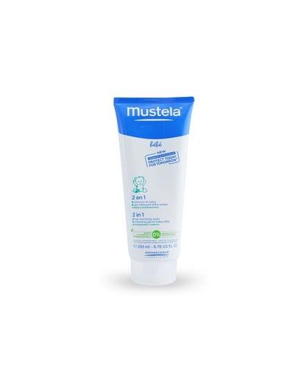 Mustela 2 in 1 Body Gel 200 ml