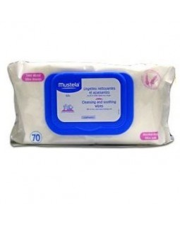 Mustela Dermo-Soothing Wipes x70