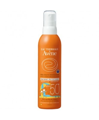 Avene Sunscreen Spray for Children SPF50+ 200 ml
