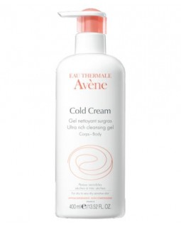 AVENE COLD CREAM ULTRA-RICH CLEANSING GEL 400ML
