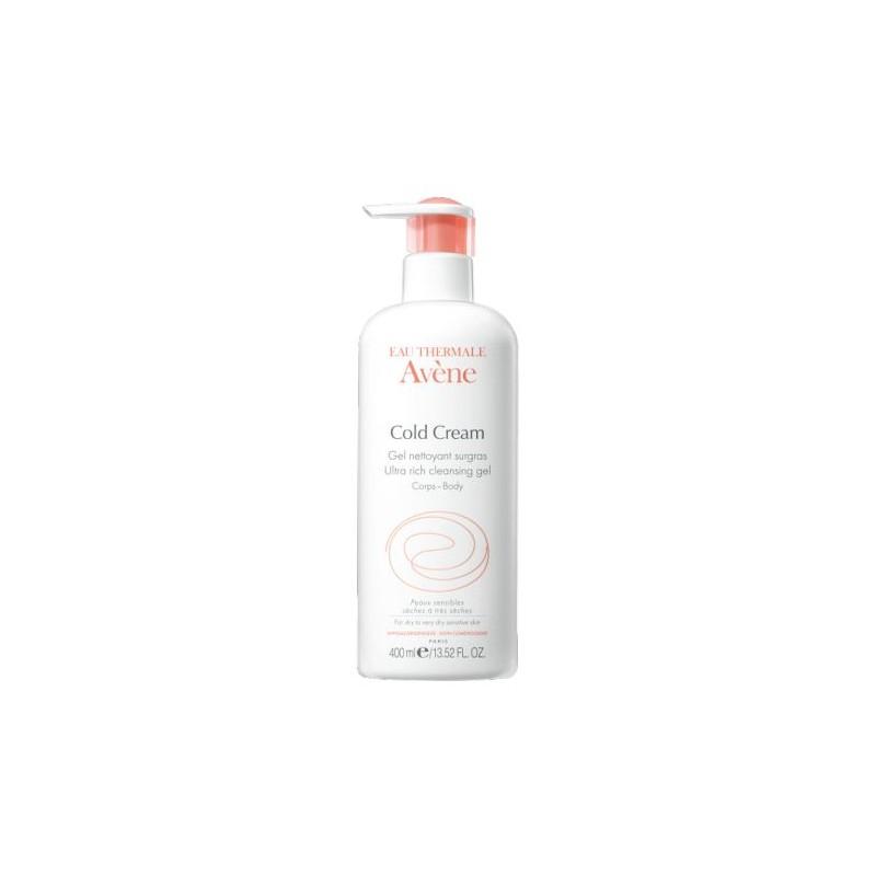 Avene Cold Cream Ultra-Rich Cleansing Gel 400 ml