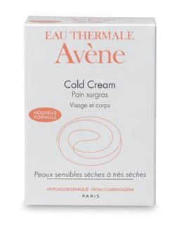 AVENE COLD CREAM ULTRA-RICH CLEANSING BAR 100G