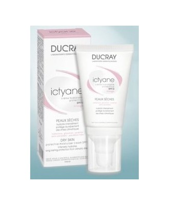 DUCRAY ICTYANE PROTECTIVE MOINSTURIZING CREAM SPF15 40ML
