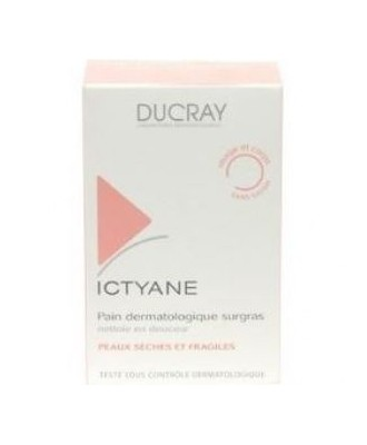 DUCRAY ICTYANE EXTRA RICH DERMATOLOGICAL SOAP BAR 200G
