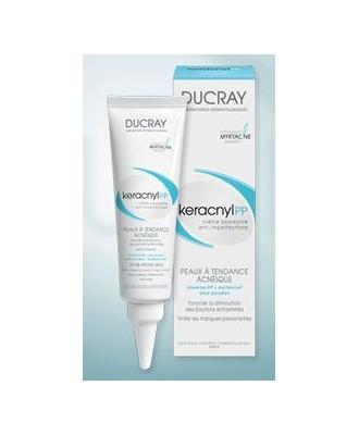 Ducray Keracnyl PP Crème Peaux Acnéiques 30 ml