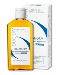 Ducray Squanorm Shampooing Pellicules Grasses 200 ml
