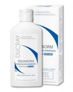 Ducray Squanorm Shampooing Pellicules Sèches 200 ml
