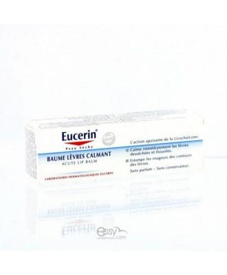 EUCERIN BAUME LEVRES CALMANT PEAUX SECHES 10ML