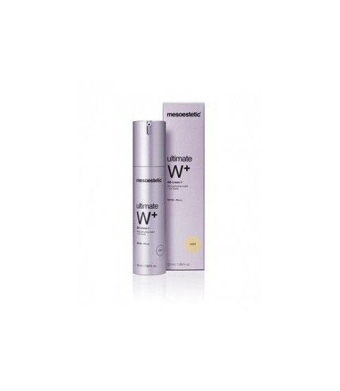 Mesoestetic Ultimate W+ BB SPF 50 Tinted Light 50 ml
