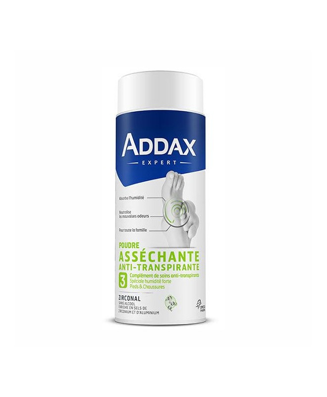 ADDAX ZIRCONAL FEET POWDER 75G
