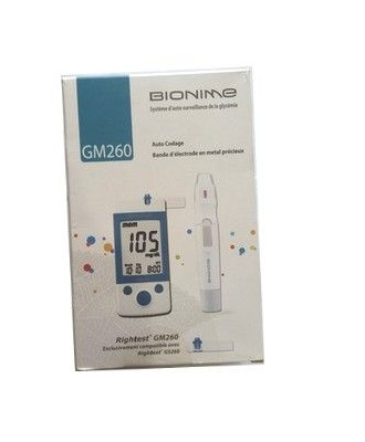 BIONIME Blood Glucose Monitoring System GM260