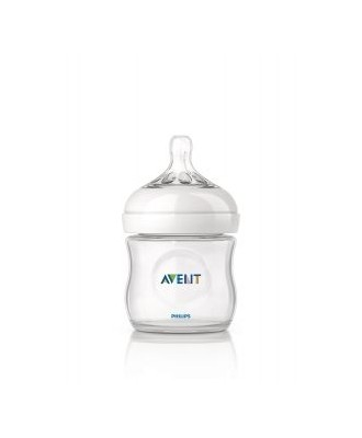 AVENT NATURAL GLASS BABY BOTTLE 125ML SCF690/17