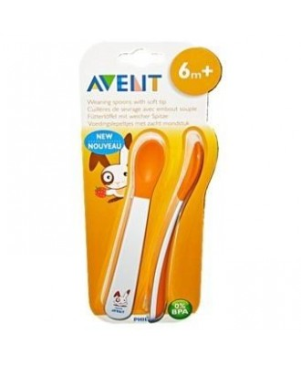 AVENT Toddler weaning spoons 6m+ SCF710/00