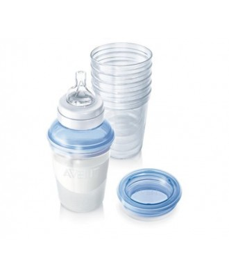 AVENT VIA AVENT Feeding System SCF610/05 Breast milk
