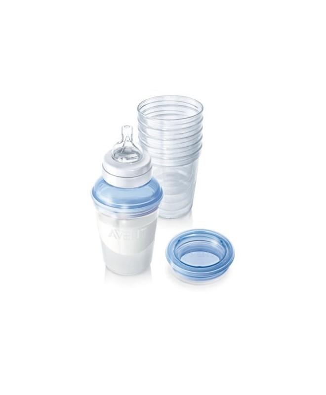 avent pots de conservation pour lait maternel scf610 05. Black Bedroom Furniture Sets. Home Design Ideas