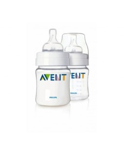 AVENT BABY BOTTLE CLASSIC AIRFLEX 125ML PACK x 2 SCF640/27