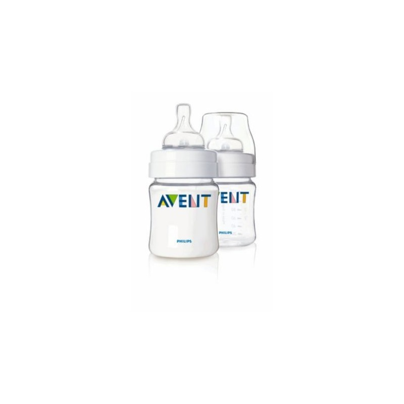 AVENT BABY BOTTLE CLASSIC AIRFLEX 125ML PACK x 2 SCF640/27