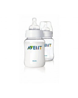 AVENT BABY BOTTLE CLASSIC AIRFLEX 260ML PACK x 2 SCF643/27