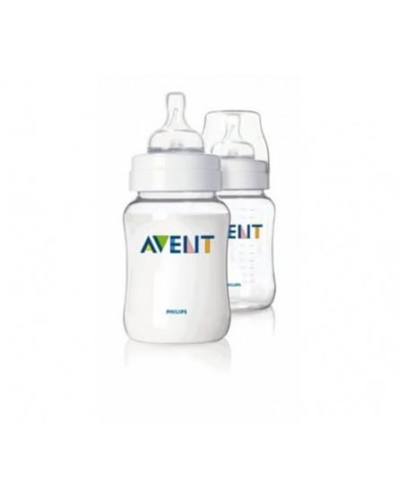 AVENT BABY BOTTLE CLASSIC AIRFLEX 260ML PACK x 2 SCF643/27