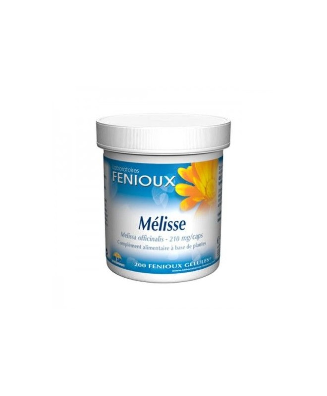 FENIOUX - MELISSE - 200 Gélules