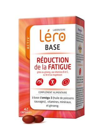 LERO BASE - REDUCTION DE LA FATIGUE - 42 CP