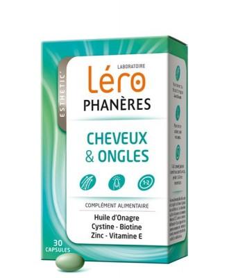 LERO PHANERES -CHEVEUX ET ONGLES - 30CP