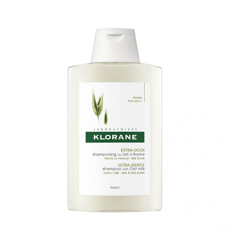 Klorane Shampooing au lait d'Avoine 400 ml