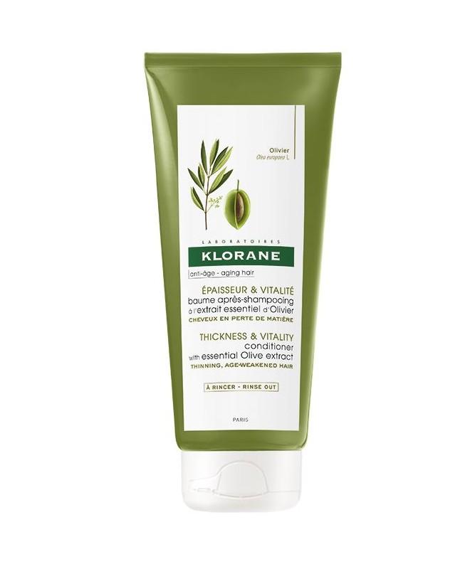 Klorane Baume après-shampooing à l'extrait essentiel d'Olivier 200 ml