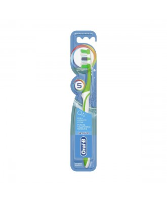 Oral B Complete 5 Way Clean Medium 40 Duo Toothbrush