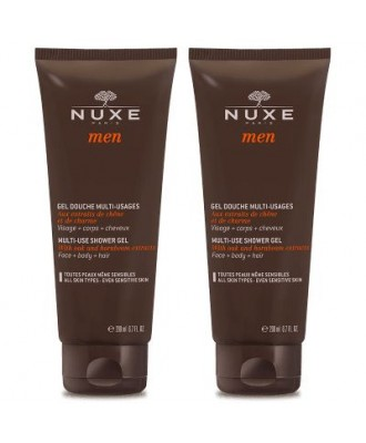 Nuxe Men Shower Gel 200ml Duo