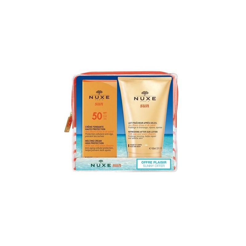 Nuxe Sun Melting Cream High Protection for Face SPF50 50ml Kit