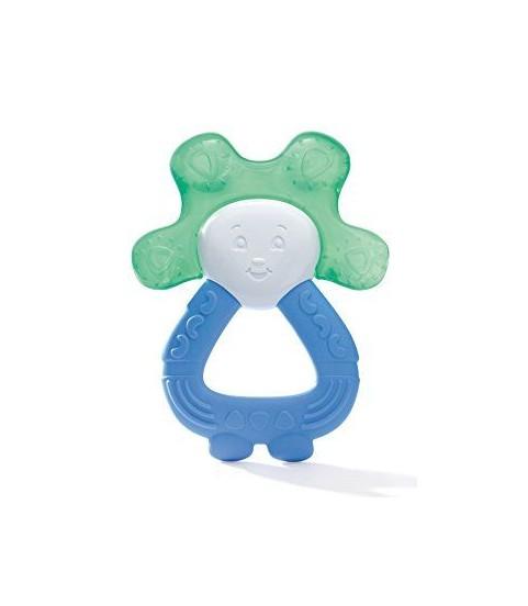 Dodie Anneau Dent Réfrigéré 2en1 Bleu/Vert