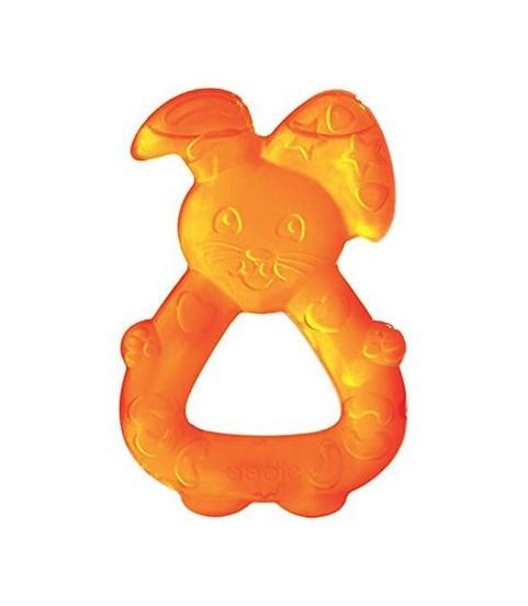 Dodie Anneau Dent Réfrigéré Lapin Orange