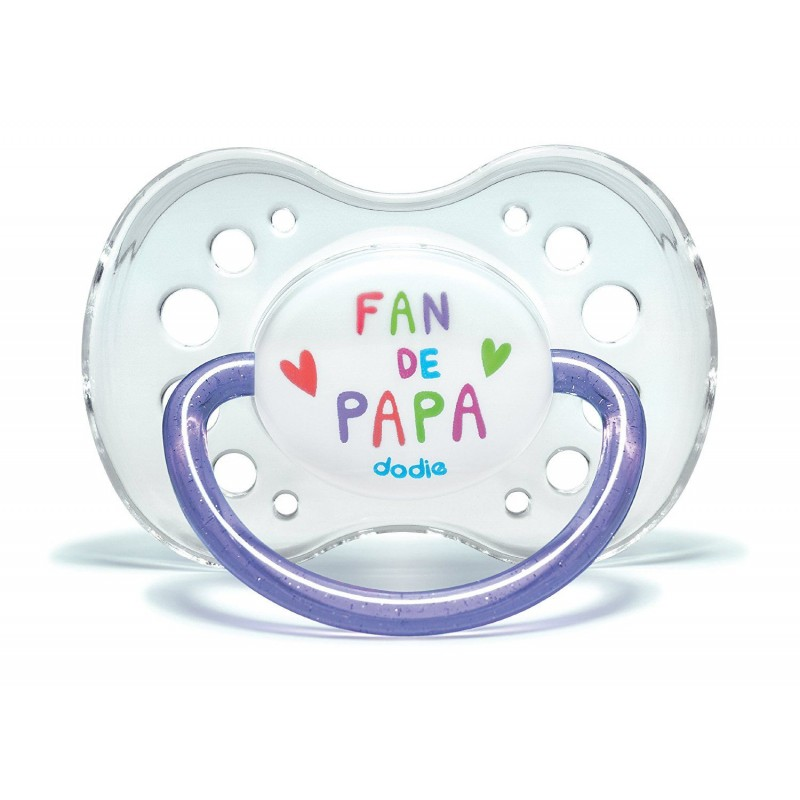 Dodie Anatomic Pacifier +18 Silicone Fan 37