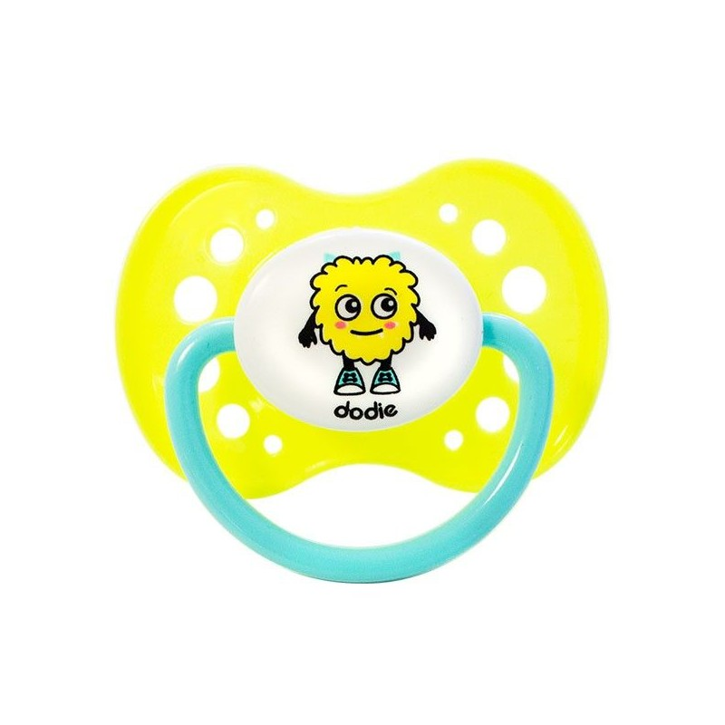 Dodie Anatomic Pacifier +18 Silicone Fluo A60