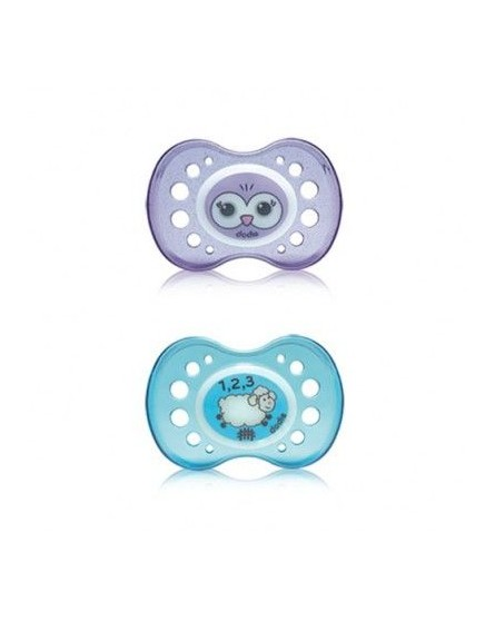Dodie Anatomic Pacifier +18 Silicone Night 43