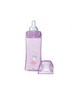 Dodie Baby Bottle Evolution+ 330ml Purple Teat D3