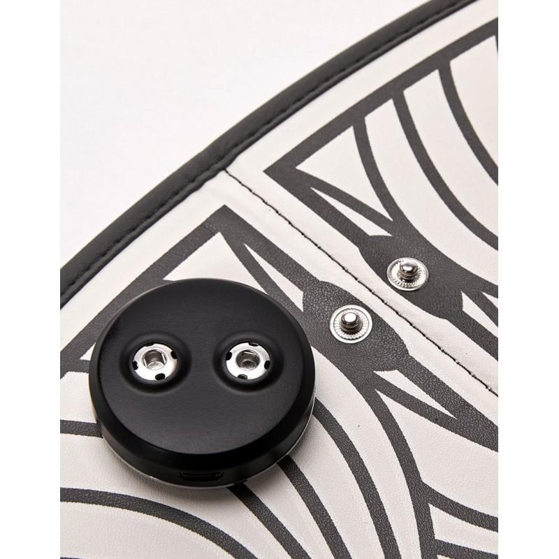Tapis d'electro stimulation - application - détail