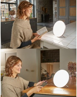 luminotherapy lumi led lamp - situation