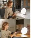 luminotherapy lumi led lamp - situation