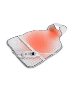 Back Heating pad - heated areas